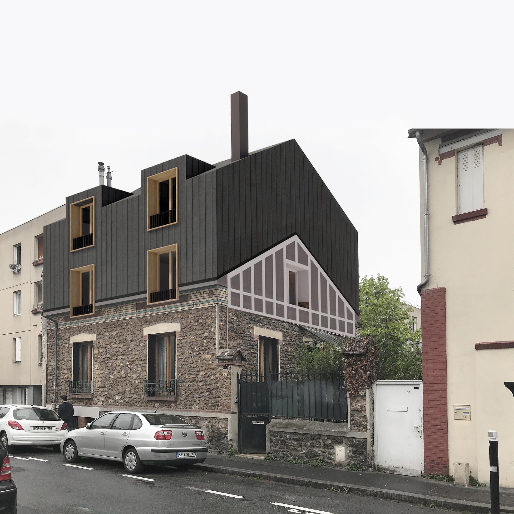 surélévation montreuil – Olivier Stadler Architecte (1)